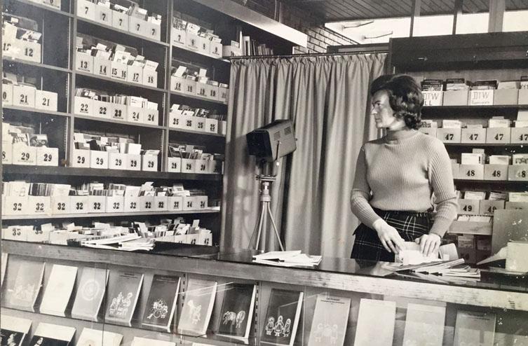 Archivbild aus der Bibliothek der Theater- und Spielberatung Baden-Württemberg e.V.