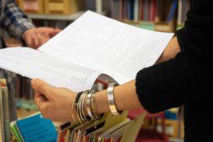 Beratung in der Bibliothek der TSB